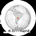 Outline Map of Colonia Villafañe, rectangular outline