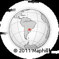 Outline Map of Puerto Mayor Otaño, rectangular outline