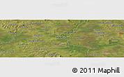 "Satellite Panoramic Map of the area around 26°30'51""S,56°52'30""W"