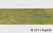 "Satellite Panoramic Map of the area around 26° 30' 51"" S, 57° 43' 30"" W"