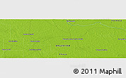 "Physical Panoramic Map of the area around 26° 30' 51"" S, 59° 25' 29"" W"
