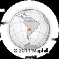 Outline Map of Taruca Pampa, rectangular outline