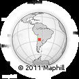 Outline Map of Loro Huasi, rectangular outline