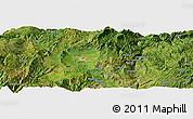 Satellite Panoramic Map of Zhaotong