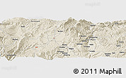 Shaded Relief Panoramic Map of Zhaotong