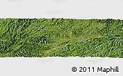 Satellite Panoramic Map of Qingyang