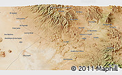 """Satellite 3D Map of the area around 27°19'44""""N,112°58'29""""W"""