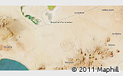 Satellite 3D Map of Emiliano Zapata