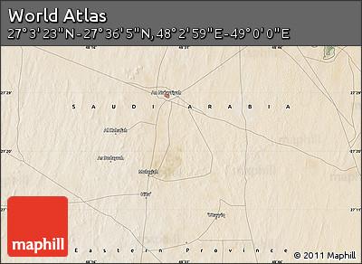 "Satellite Map of the Area around 27°19'44""N,48°31'29""E"