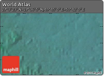 "Satellite Map of the Area around 27°19'44""N,50°13'30""E"