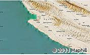 "Satellite Map of the area around 27°19'44""N,52°46'29""E"