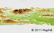 """Physical Panoramic Map of the area around 27°19'44""""N,55°19'30""""E"""