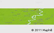 Physical Panoramic Map of Lārkāna