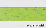 Physical Panoramic Map of Mathura