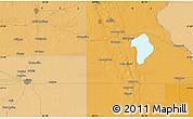 Political Map of Lake Placid