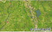 Satellite Map of Lake Placid