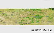 Satellite Panoramic Map of Alīgarh