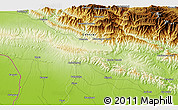 """Physical 3D Map of the area around 27°19'44""""N,85°4'29""""E"""