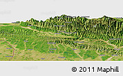 Satellite Panoramic Map of Dharsing