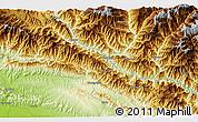 Physical 3D Map of Bārābise