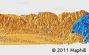 """Political Panoramic Map of the area around 27°19'44""""N,85°55'30""""E"""