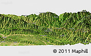Satellite Panoramic Map of Yāngbel