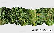Satellite Panoramic Map of Xichang