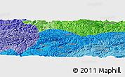 Political Panoramic Map of Qinggang
