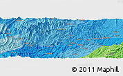 Political Panoramic Map of Ailong