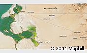Satellite 3D Map of Bombas de Salinas