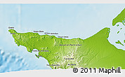"""Physical 3D Map of the area around 27°48'57""""N,114°40'30""""W"""