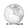 """Outline Map of the Area around 27° 48' 57"""" N, 114° 40' 30"""" W, rectangular outline"""