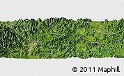 Satellite Panoramic Map of Luqiao