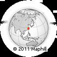 Outline Map of Wenzhou, rectangular outline