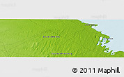 """Physical Panoramic Map of the area around 27°48'57""""N,48°31'29""""E"""