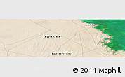 "Satellite Panoramic Map of the area around 27°48'57""N,48°31'29""E"