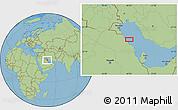"Savanna Style Location Map of the area around 27°48'57""N,49°22'30""E"