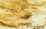 Physical Map of Lār