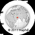 Outline Map of Pathān, rectangular outline