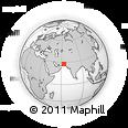 Outline Map of Reg Farang, rectangular outline