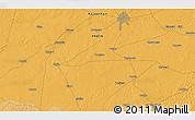 Political 3D Map of Bīkāner