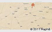 Satellite 3D Map of Bīkāner