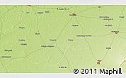 Physical 3D Map of Nawalgarh