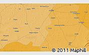 Political 3D Map of Nawalgarh