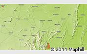 Physical 3D Map of Kishangarh