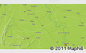 """Physical 3D Map of the area around 27°48'57""""N,77°25'30""""E"""