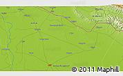 Physical 3D Map of Bahraich