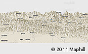 "Shaded Relief Panoramic Map of the area around 27° 48' 57"" N, 83° 22' 30"" E"