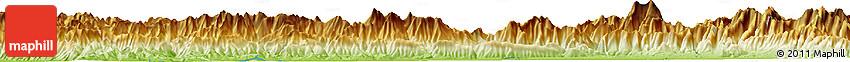 Physical Horizon Map of Chilha
