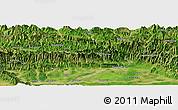 Satellite Panoramic Map of Bharatpur